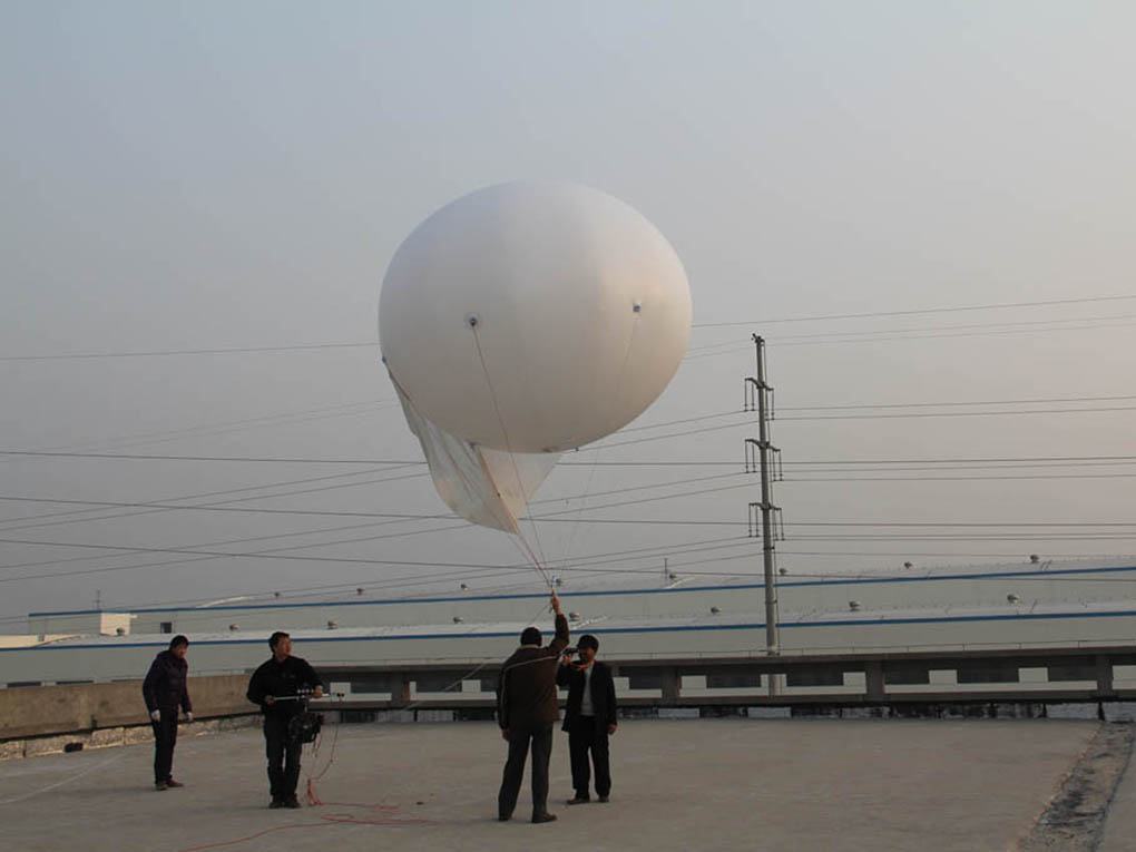 balloon with rope 1020